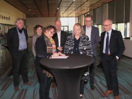 Ondertekening van het bestuursakkoord agrarisch waterbeheer