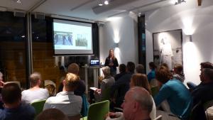Presentatie tijdens de DAW-workshop