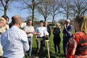 Veldbezoek in Vessem - bodemkwaliteit